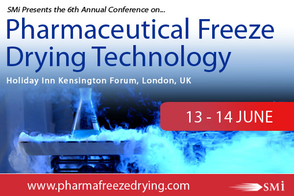 INTRODUCING SMI'S 6th ANNUAL CONFERENCE ON PHARMACEUTICAL FREEZE DRYING TECHNOLOGY THIS JUNE 2018